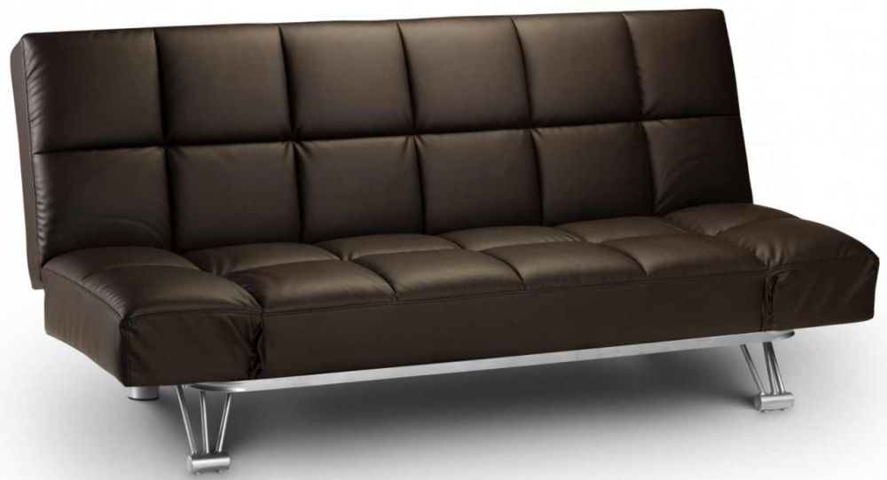 Julian Bowen Manhattan Brown Sofa Bed