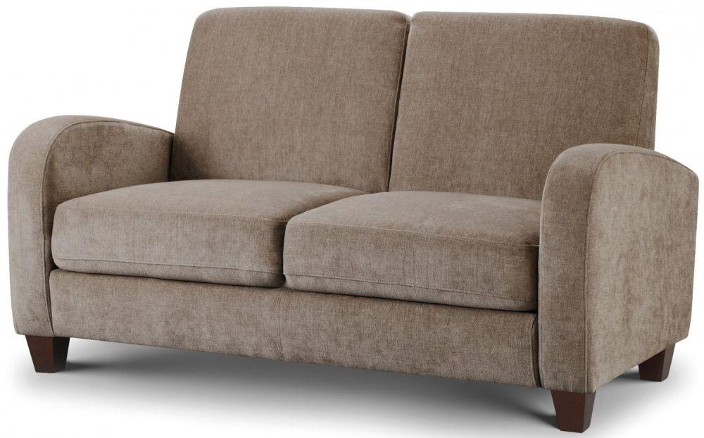 Julian Bowen Vivo Mink Chenille Sofa - 2 Seater