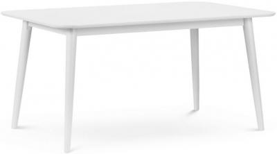 Julian Bowen Torino Lunar White Dining Table