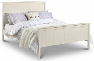 Julian Bowen Harmony Stone White Bed