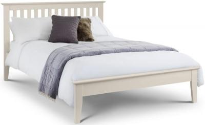 Julian Bowen Salerno Shaker Ivory Bed