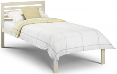 Julian Bowen Slocum Stone White Bed - 3ft Single