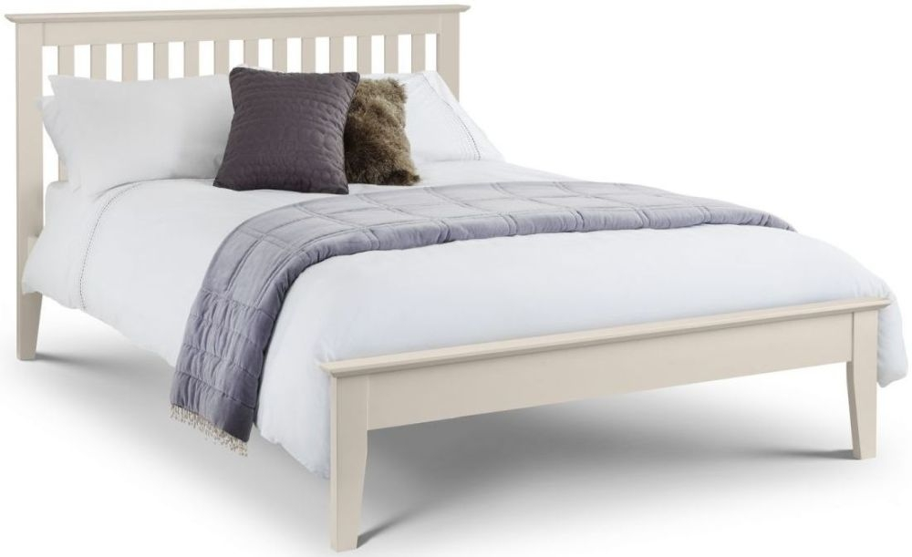 Julian Bowen Salerno Shaker Ivory Bed