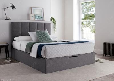Kaydian Whitburn Ottoman Storage Bed - Platine Fabric