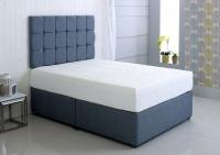 Kayflex Hybrid Cool Blue 17.5cm Reflex Memory Foam Divan Bed
