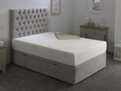 Kayflex K Latex 12.5cm Reflex Memory Foam Ottoman Divan Bed