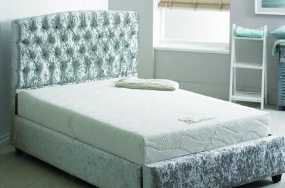 Kayflex Natural Touch 15cm Reflex Foam Visco Memory Foam Divan Bed