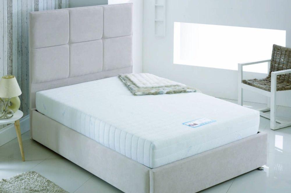 Kayflex Coolmax 15cm Reflex Visco Memory Foam Ottoman Divan Bed