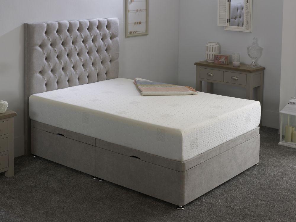 Kayflex K Latex 12.5cm Reflex Memory Foam Divan Bed