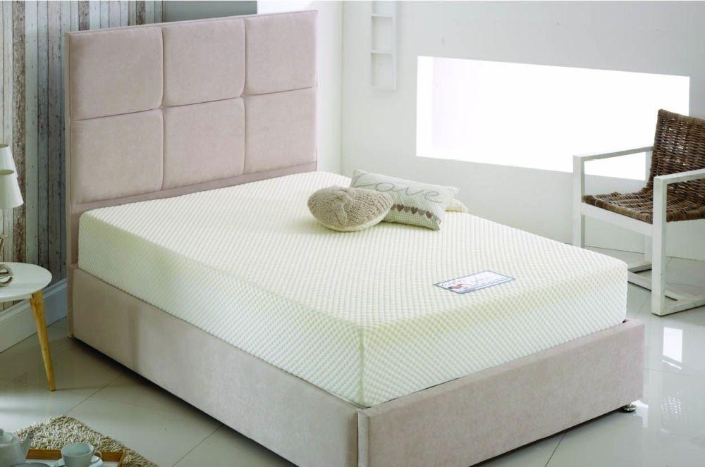 Kayflex Platinum 17.5cm Reflex Visco Memory Foam Ottoman Divan Bed.jpg