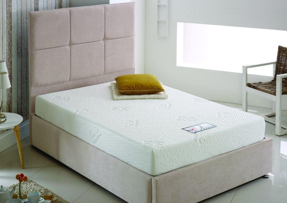 Kayflex Silver 15cm Reflex Visco Memory Foam Divan Bed