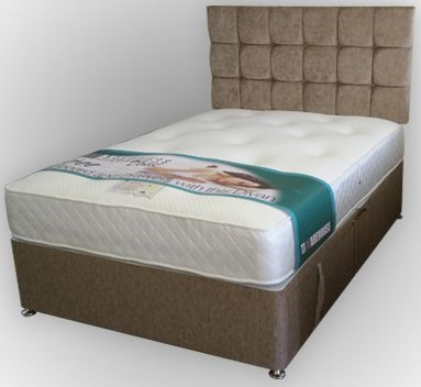 Kayflex Soft Touch 1000 Pocket Sprung Memory Foam Ottoman Divan Bed