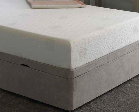 K Latex 12.5cm Reflex Memory Foam Mattress