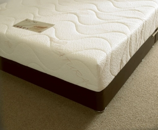 Natural Touch 15cm Reflex Foam Visco Memory Foam Mattress