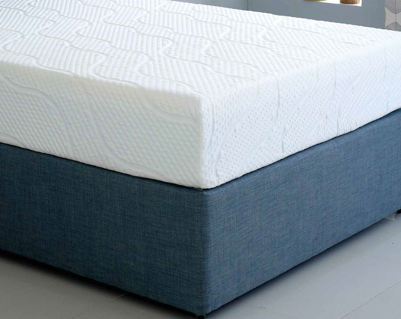 Hybrid Cool Blue 17.5cm Reflex Memory Foam Mattress
