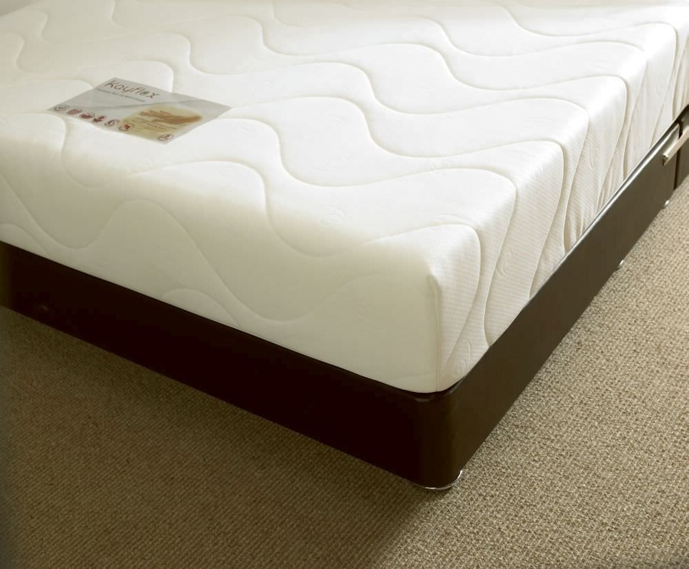 Silver 15cm Reflex Visco Memory Foam Mattress Kayflex