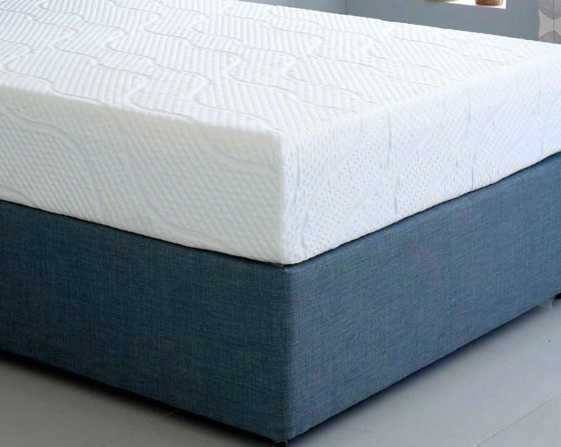 Hybrid Cool Blue 17.5cm Reflex Memory Foam Mattress