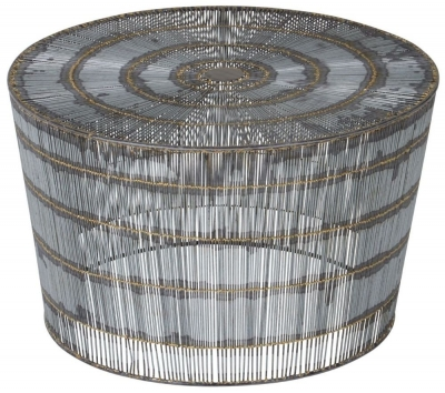 Barnet Natural Wireframe Coffee Table