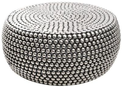 Barnet Silver Beaded Coffee Table