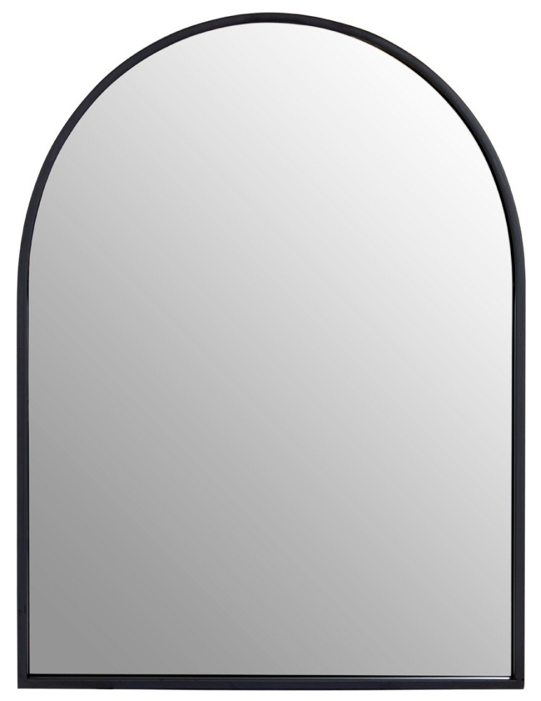 Brisbane Black Large Wall Mirror
