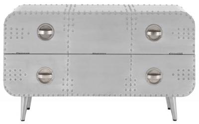 Chalfont Aviator Aluminium Chest