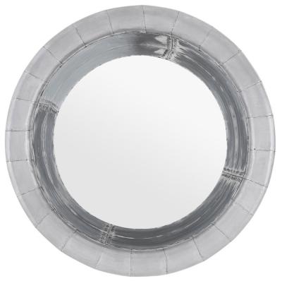 Chalfont Aviator Aluminium Round Wall Mirror