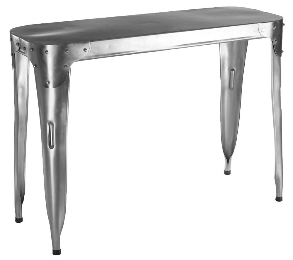 Chalfont Aviator Stainless Steel Console Table