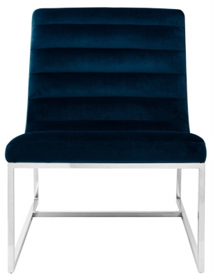 Envi Midnight Velvet Cocktail Chair