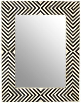 Esher Bone Inlay Frame Wall Mirror