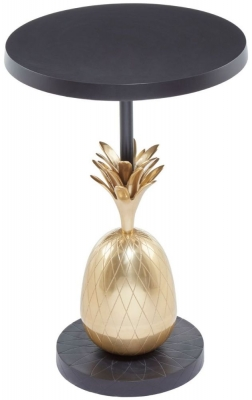Esher Brass Pineapple Round Side Table
