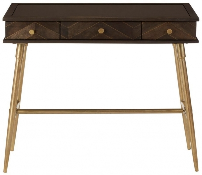 Terrell Grey Mango Wood Console Table