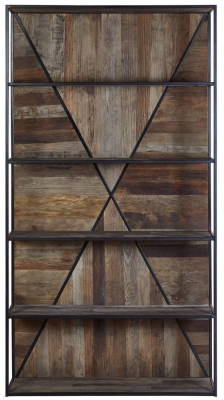 Virginia Natural Wood 5 Tier Shelf Unit