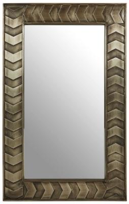 Westlake Metallic Mango Wood Wall Mirror