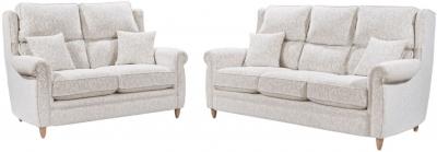 Lebus Alina 3+2 Seater Fabric Sofa