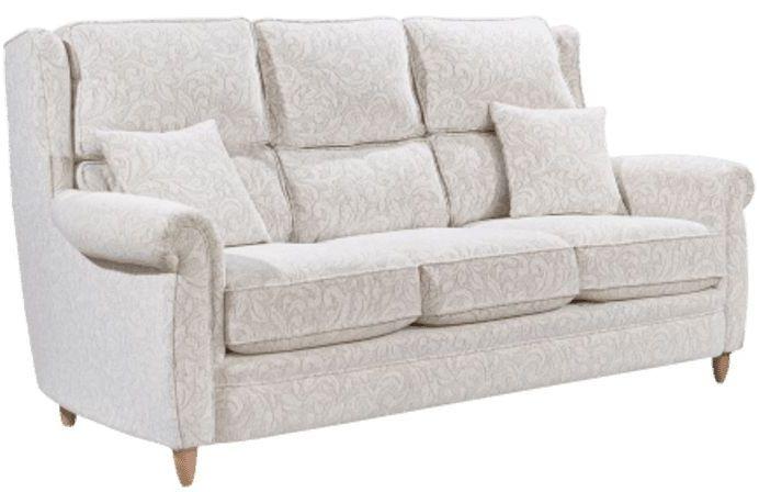 Lebus Alina 3 Seater Fabric Sofa