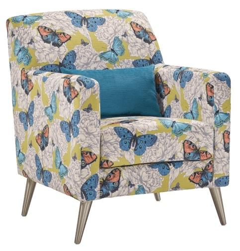 Lebus Bennett Fabric Accent Chair