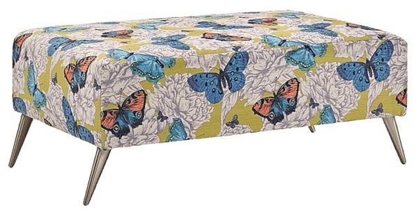 Lebus Bennett Fabric Footstool