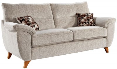 Lebus Billie 3 Seater Fabric Sofa