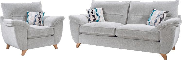 Lebus Billie Fabric Sofa Suite