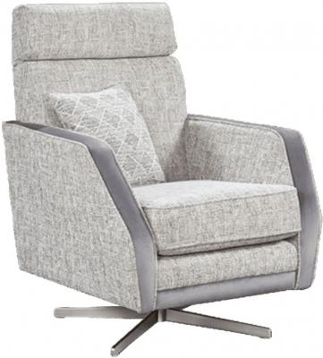 Lebus California Fabric Swivel Chair