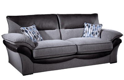 Lebus Chloe 3 Seater Fabric Sofa