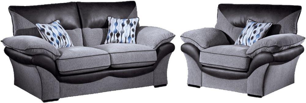 Lebus Chloe 2+1 Seater Fabric Sofa