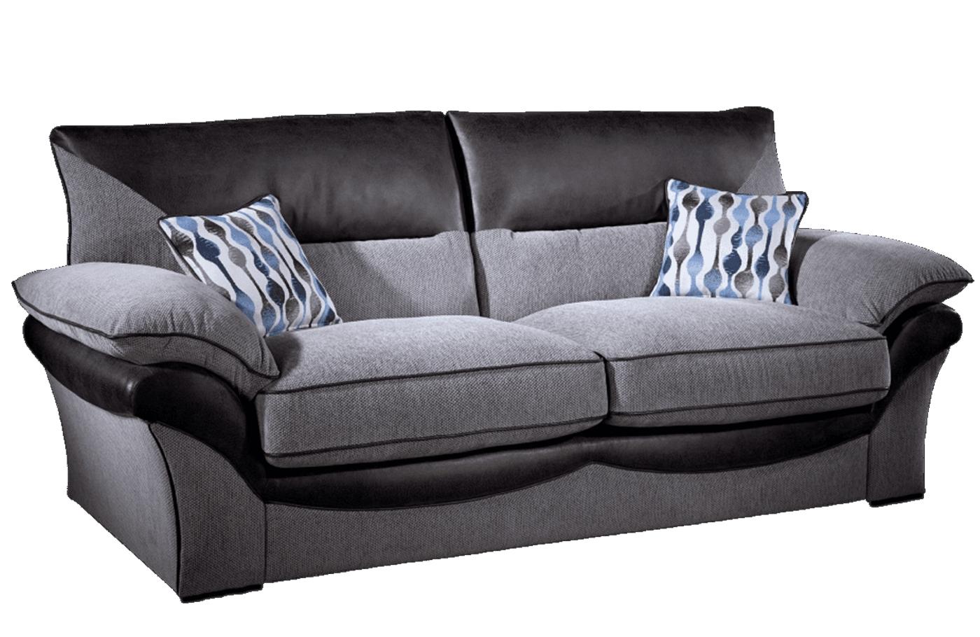 Lebus Chloe 3 Seater Fabric Sofa