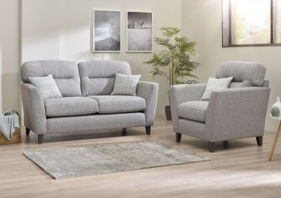 Lebus Clara 2+1 Seater Fabric Sofa