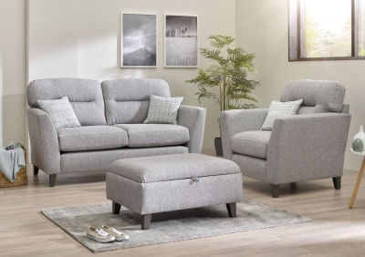 Lebus Clara 2 Seater Fabric Sofa Suite