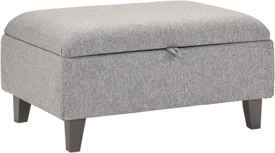 Lebus Clara Fabric Storage Footstool