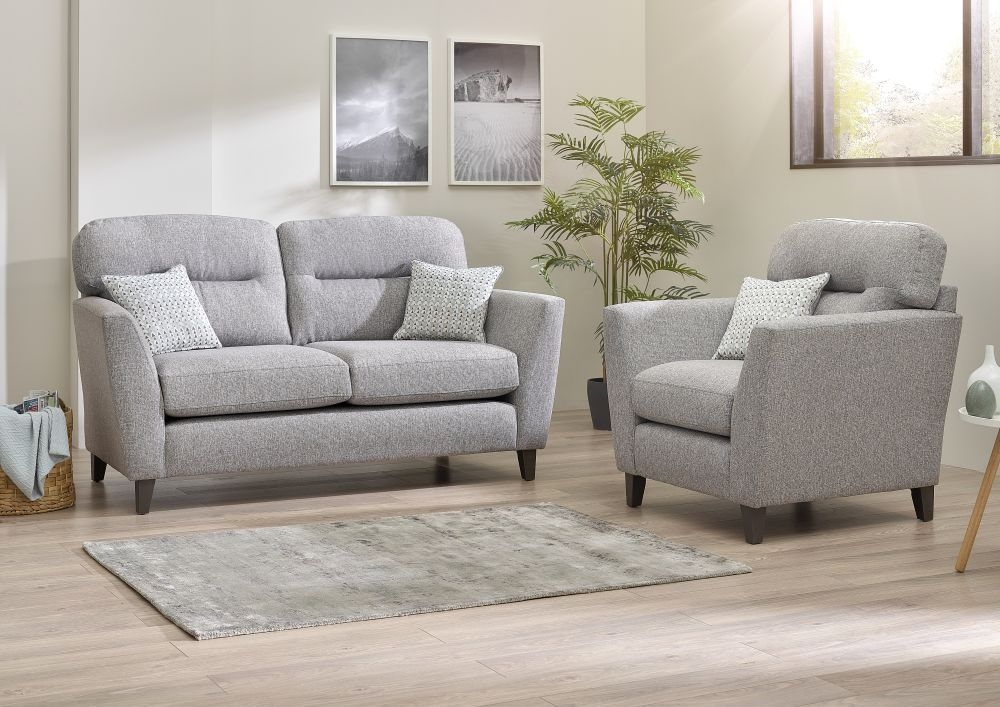 Lebus Clara 2+1 Seater Fabric Sofa