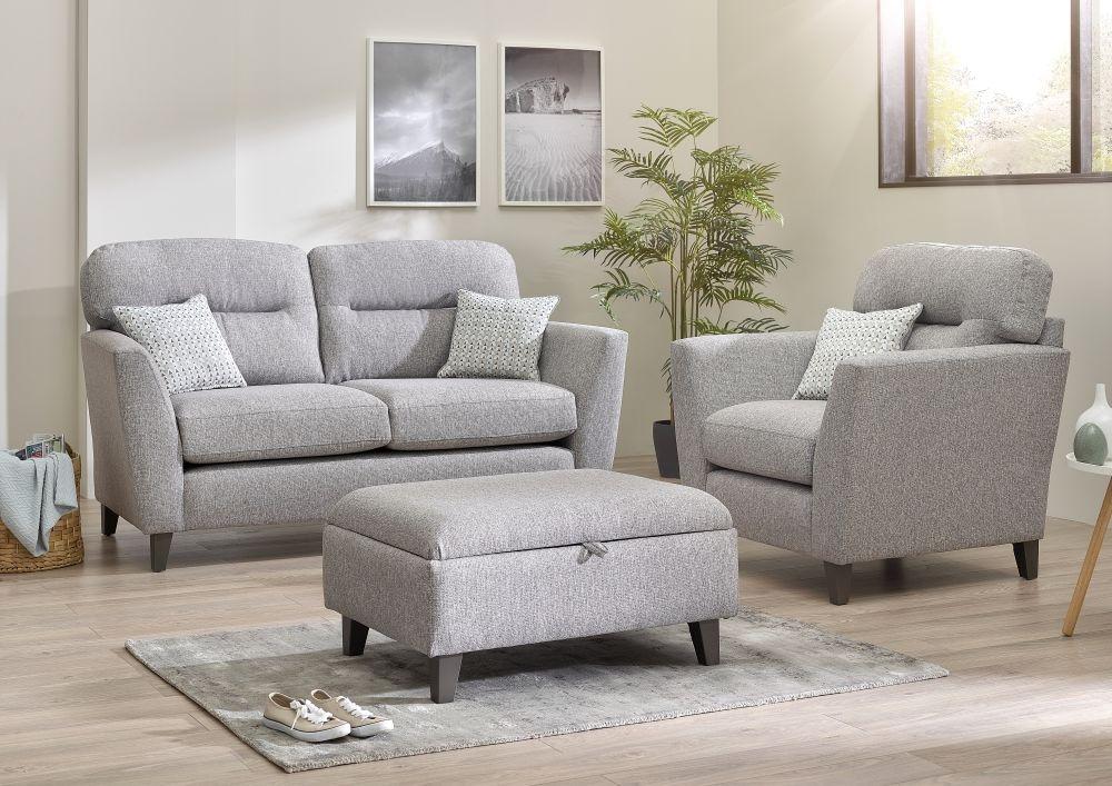 Lebus Clara 2 Seater Fabric Sofa Suite