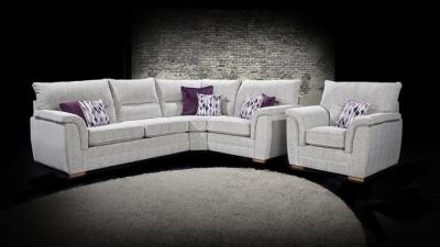 Lebus Keaton Augusta Fabric Sofa Suite