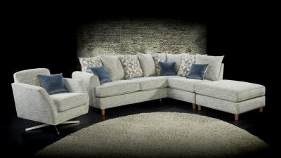 Lebus Lusso Grady Fabric Sofa Suite